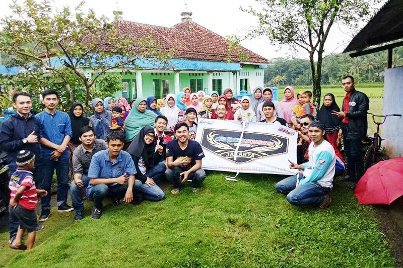 CBR Riders Jakarta Gelar Touring Baksos ke Tasikmalaya