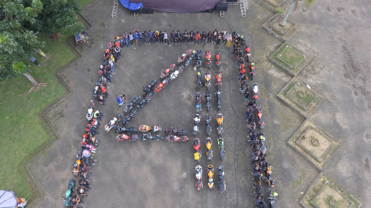Jambore Regional 4th CBR Sumatera di Jambi Pecah