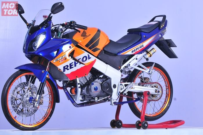 Inspirsi Modifikasi Ketika Honda Cbr 150 Dimodif Thailook