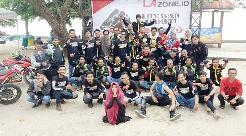 Keseruan Kopdar Honda CBR Sulawesi di Palopo