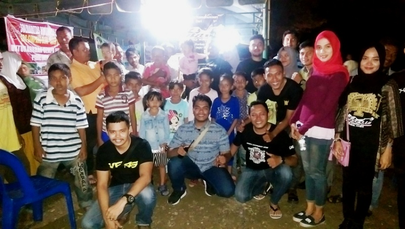CBR Club Indonesia Salurkan Bantuan  Wujud Peduli Korban Gempa Aceh