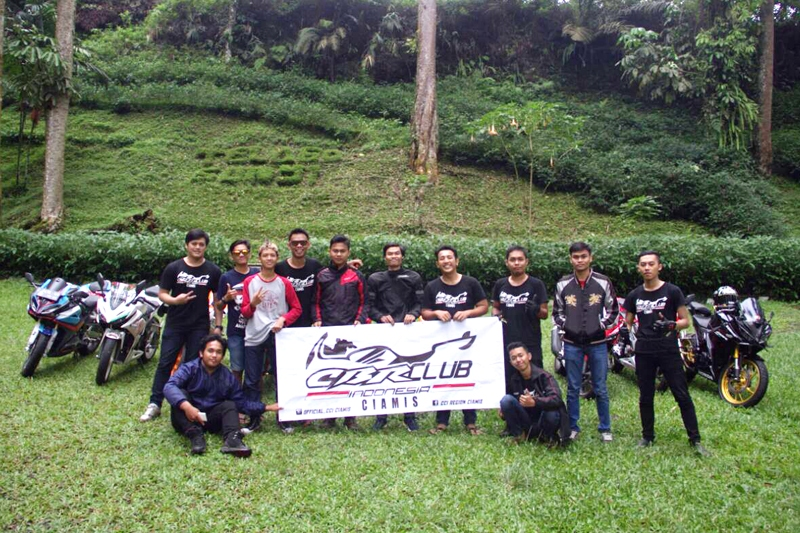 CCI Ciamis Lakukan Pelantikan dan Tourjib 2017 ke Baturraden