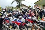 CCI (CBR Club Indonesia) Depok Gelar Family Ghathering Perkuat Persaudaraan