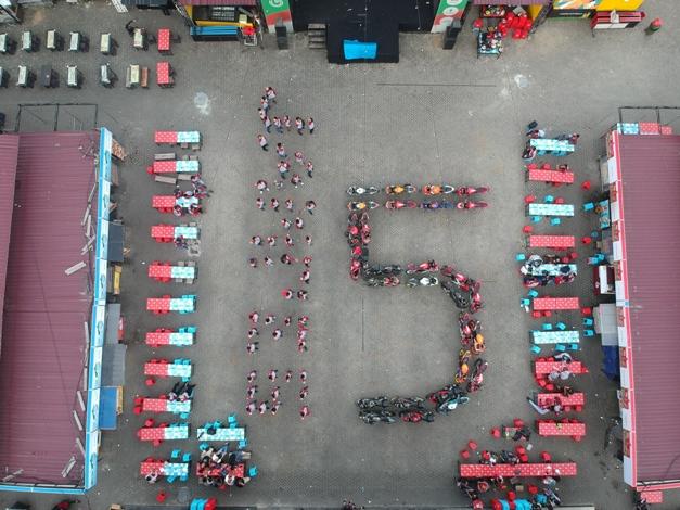 Jambore Regional Satukan Hati  Pecinta CBR Sumatera