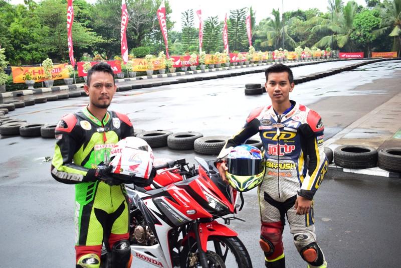 Biker Honda Banten Jajal All New CBR 150R di  All New Honda CBR 150R Track Day