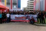 Biker Honda CBR Palembang Belajar Balap di All New Honda CBR150R Track Day