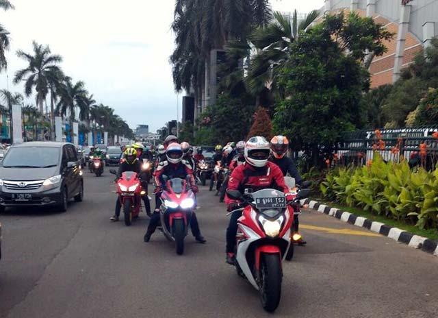 Fun Riding CBR Community Hadiri Launching All New Honda CBR 150R