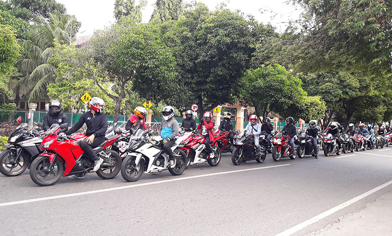 Capella Honda Ajak Komunitas Honda Banda Aceh Touring Bersama