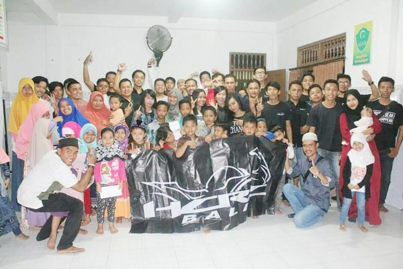 Syukuran Base Camp Baru, HCRC Bali Berbagi di Panti Asuhan
