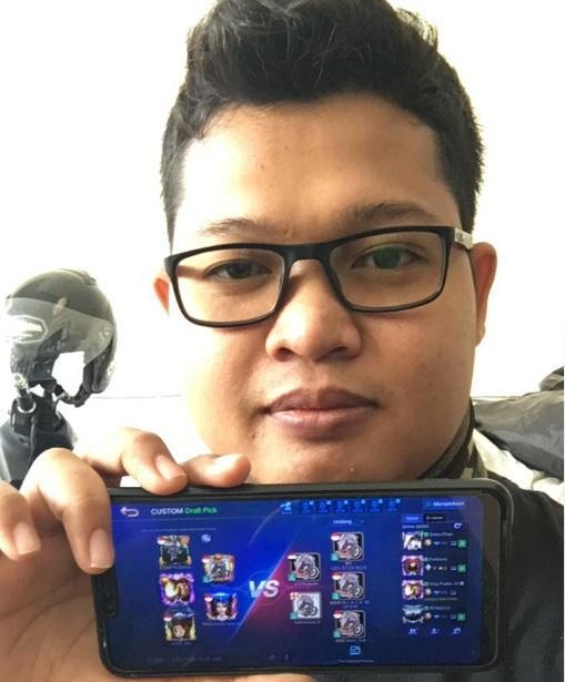 Heru Kurnia Setiawan, Wakili PHCI di Mobile Legends Competition