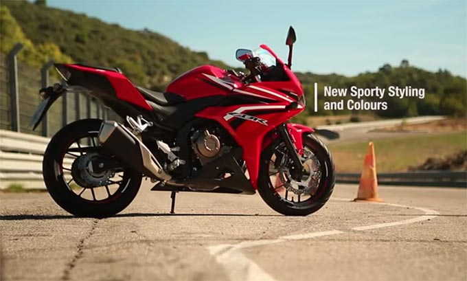Video Honda CBR500R, Styling Agressive Speed Shape