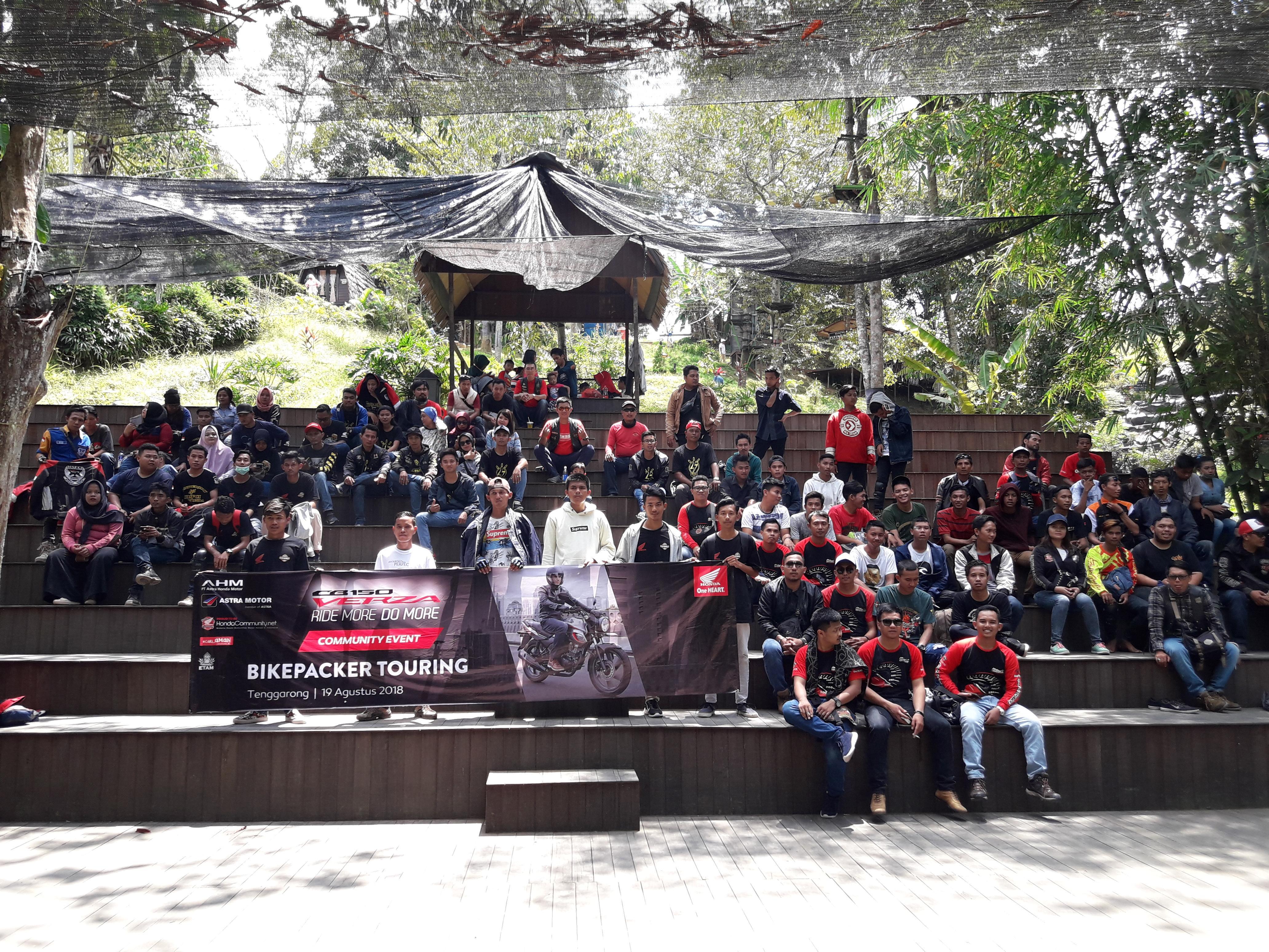 Komunitas Honda Etam Lakukan Touring Bikepacker