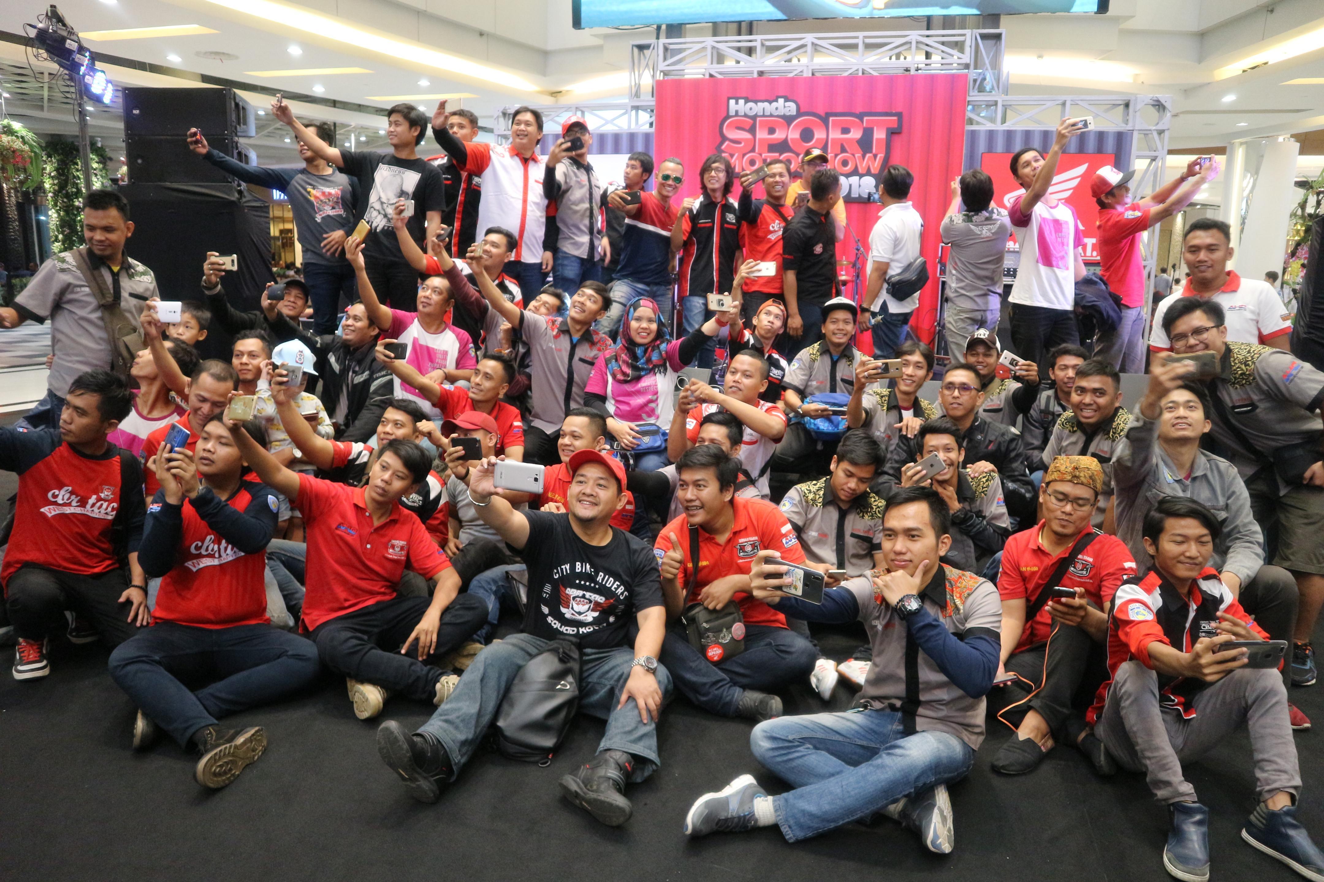Komunitas CBR Turing Hadiri Honda Sport Motorshow 2018 di Alam Sutera