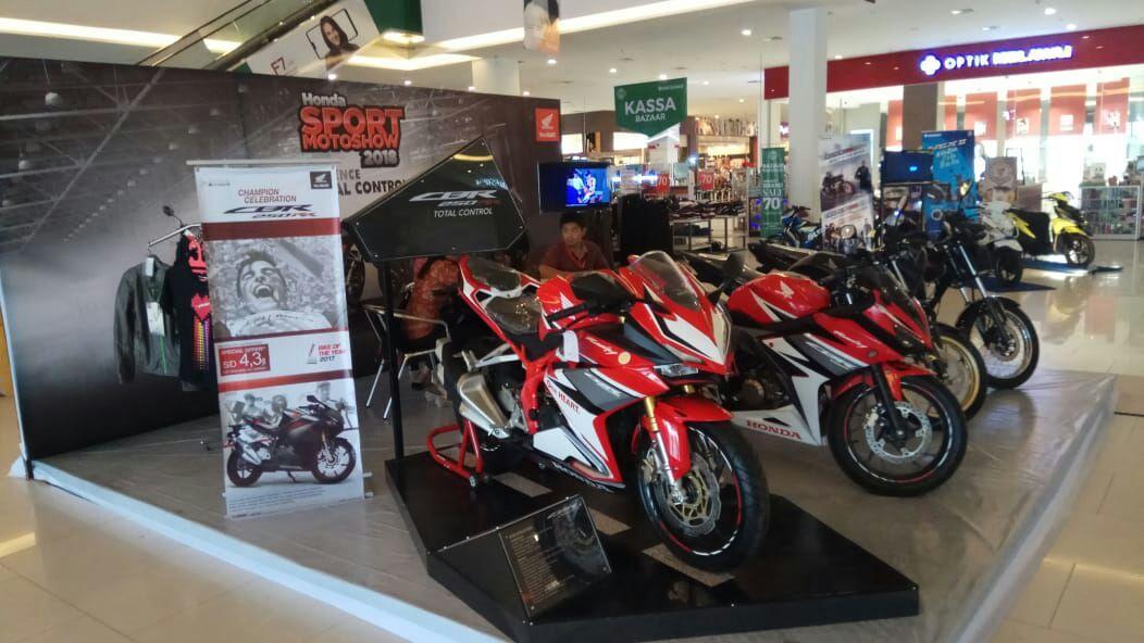 Giliran Trio Motor Palangkaraya Jadi Tuan Rumah Honda Sport Motor Show 2018