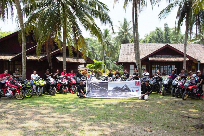 Perkuat Tali Silaturahmi, ICON Jakarta Gelar Touring ke Pantai Carita
