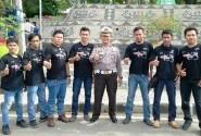 Lampung CBR Club (LCC) Support HUT ke-61 Korlantas Polda Lampung