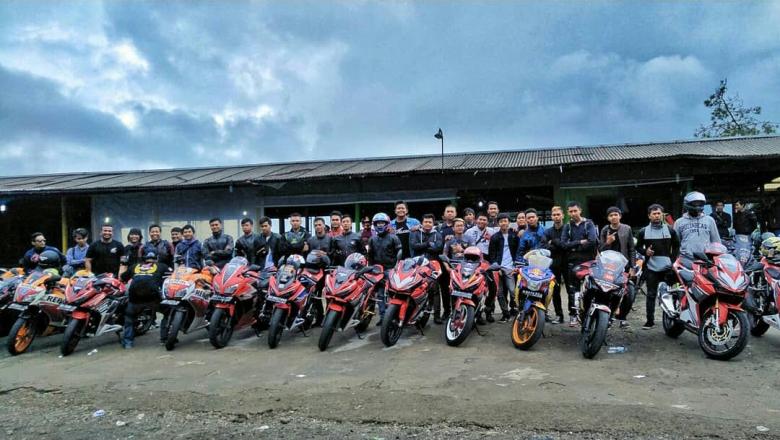 Ratusan Bikers Honda CBR Series Siap Serbu Gunung kidul