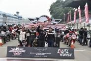 Penggila Honda CBR Tutup Tahun Dengan Balapan