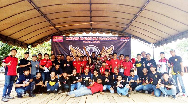 Bikers Honda CBR Kalimantan Jalin Silaturahmi Dalam Jamda AHC