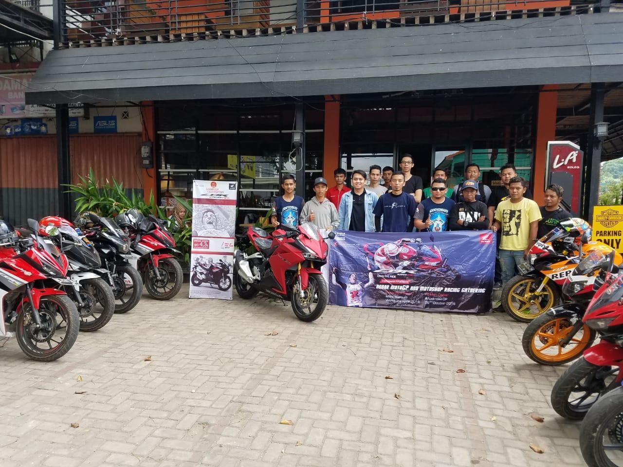Komunitas Honda CBR Banjarbaru dan Martapura Gelar Nobar MotoGp