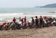 Komunitas CBR Indonesia Se-Jabar Banten Gelar Kopdargab di Pelabuhan Ratu