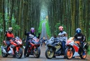 KCRC Touring Tipis-Tipis Ke Hutan Pinus Kragilan