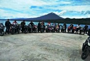 Lampung CBR Club (LCC) Laksanakan Sunmori Nikmati Wisata Pantai
