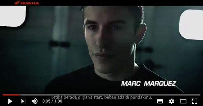 Video Marc Marquez Merasakan Performa All New Honda CBR150R