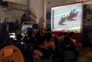 CRONS Meriahkan Nobar dan Rolling City di Kota Serang