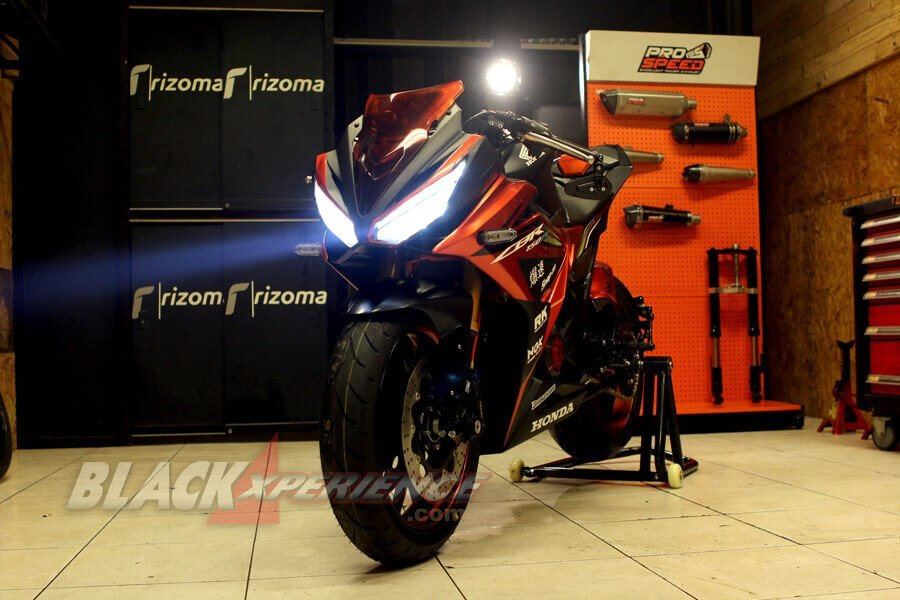 Modifikasi Honda CBR150R Berkonsep Street Exclusive