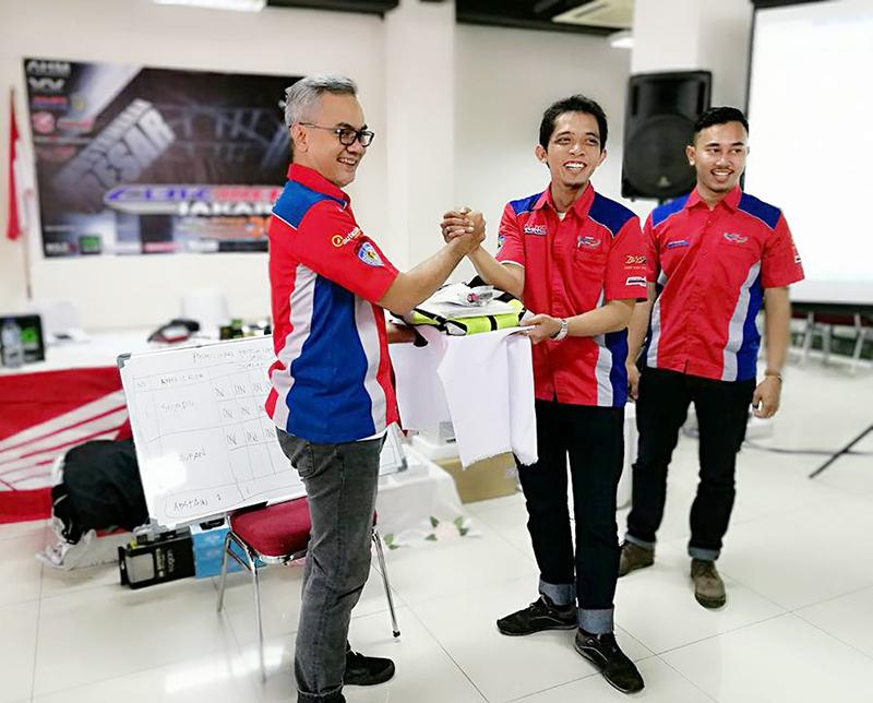 Bro Shindu Kembali Pimpin CBR Riders Jakarta Periode 2018-2020