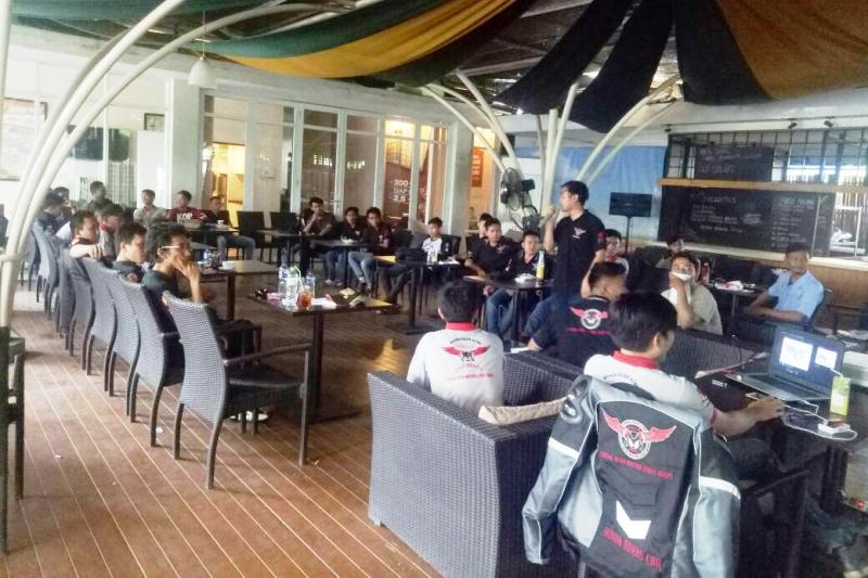 Mubes Honda Riders CBR Karawang Bentuk Pengurus Baru
