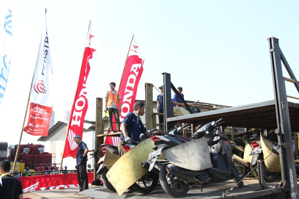 Honda Buka Pendaftaran Mudik dan Balik Bareng 2018