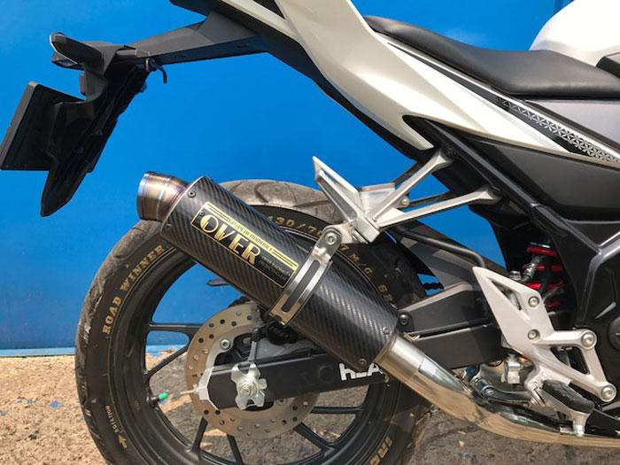 Knalpot Over Racing untuk All-New Honda CBR 150R