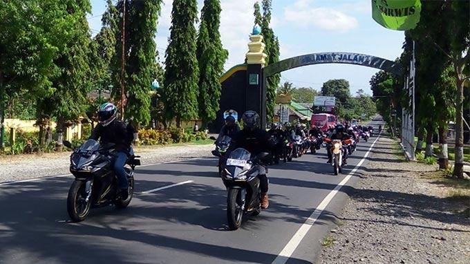 Astra Motor Yogyakarta Ajak Komunitas CBR Sunmori Sekaligus Team Building
