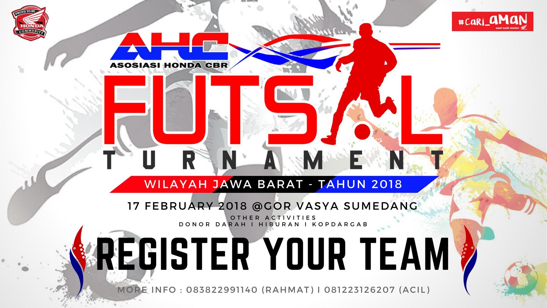 AHC Wilayah Jawa Barat Akan Mengadakan Futsal Tournamen