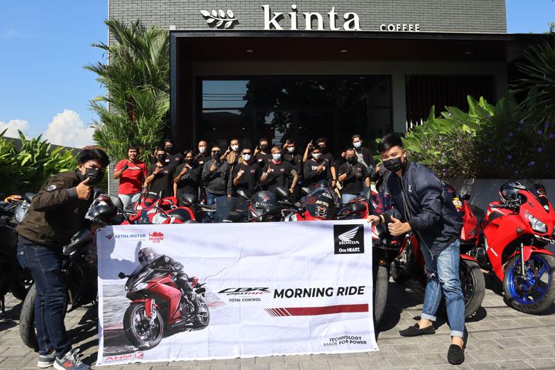 Demi Mempererat Tali Persaudaraan, HCRC Lombok Gelar Morning Ride