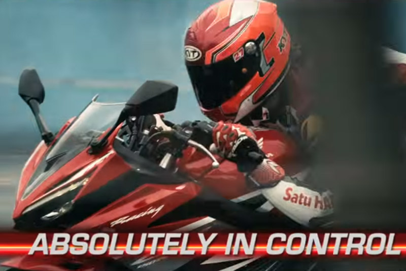 All New CBR150R Absolutely in Control