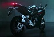 Bentuk Lekuk Bodi All New Honda CBR250RR Dalam Tayangan Video