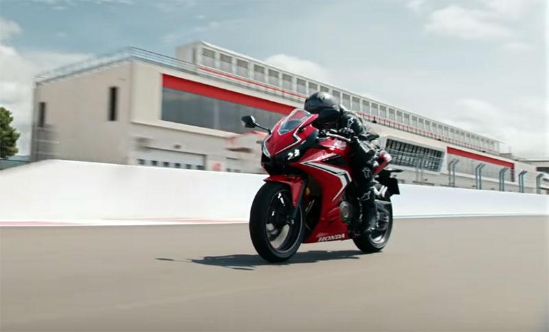 Honda CBR500R, Motor Sport yang Sebenarnya