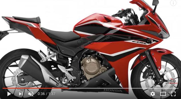 TVC Honda CBR 500R Malaysia, Makin Menggoda Dengan Desain Baru
