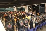 Tiba di Surabaya, Tim Purba Disambut 100 Bikers Honda