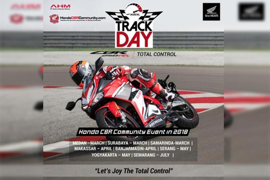 Catat! Ini Jadwal Track Day Honda CBR Community di Makassar