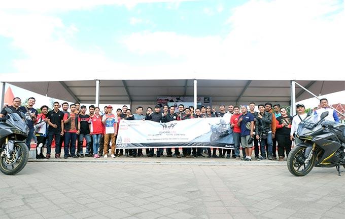 Track Day Honda CBR Community Boyolali, Dibanjiri Ratusan Anggota Komunitas Honda Jawa Tengah