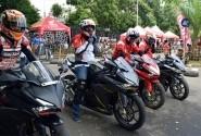 Paguyuban Honda Banten Rasakan Adrenalin All New Honda CBR250RR di Track Day