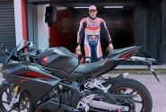 Video Testimoni Marc Marquez Setelah Mencoba All New Honda CBR250RR