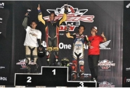 Kerja Keras Sahrul CRONS Bawa Podium Indonesia CBR Race Day