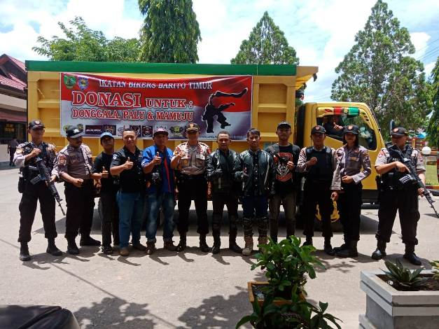 Komunitas Honda Barito Timur, Aksi galang dana Korban Gempa palu