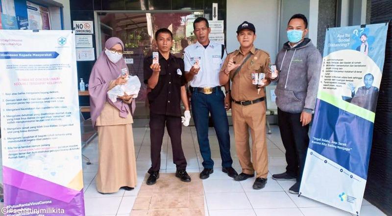 CBR Owner Tangerang Dukung Kinerja Tim Medis Donasikan Produk Kesehatan