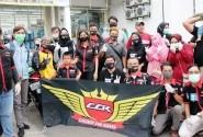 Cibubur CBR Riders Saling Berbagi dan Bersatu Melawan Covid-19